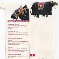 Coleccionismo Marcapáginas: MARCAPÁGINAS DE EDICION LA MULASSA SEGUICI FESTAS DE REUS Nº 2. Lote 213495550