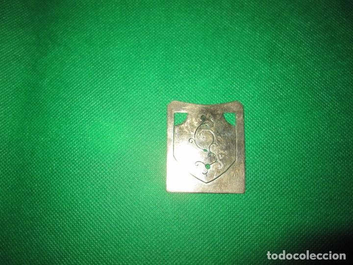 Coleccionismo Marcapáginas: Marca páginas marcapáginas metal plateado - Foto 3 - 214617961