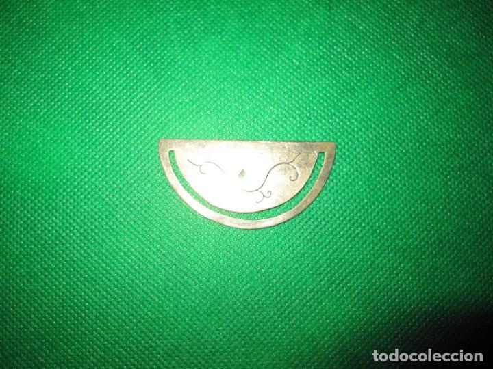 Coleccionismo Marcapáginas: Marca páginas marcapáginas metal plateado - Foto 3 - 214641195
