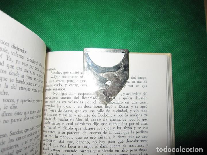 Coleccionismo Marcapáginas: Marca páginas marcapáginas metal plateado - Foto 2 - 214648836