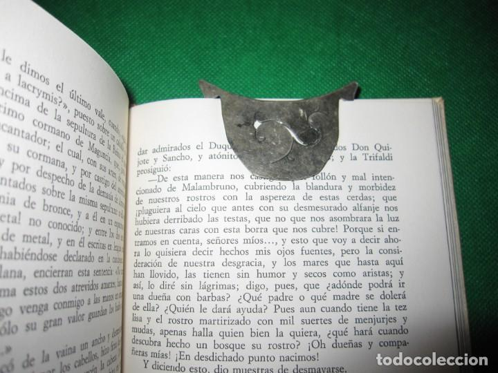 Coleccionismo Marcapáginas: Marca páginas marcapáginas metal plateado - Foto 2 - 214694835