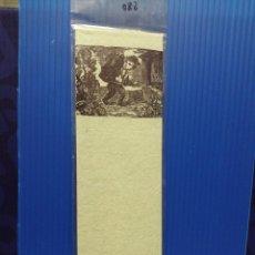 Coleccionismo Marcapáginas: PUNTO DE LIBRO MUSEU MOLÍ PAPERER DE CAPELLADES PAPEL HECHO A MANO. Lote 218165003