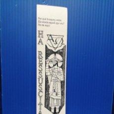 Coleccionismo Marcapáginas: PUNTO DE LIBRO PARRÒQUIA DE SANT JOAN BAUTISTA TARRAGONA 1998. Lote 218165166