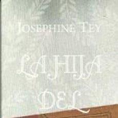 Coleccionismo Marcapáginas: MARCAPAGINAS. HOJA DE LATA. JOSEPHINE TEY. LA HIJA DEL TIEMPO. Lote 218247286