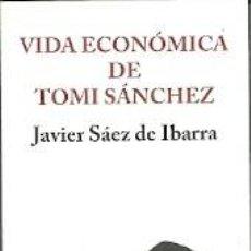 Coleccionismo Marcapáginas: MARCAPÁGINAS. LA NAVAJA SUIZA EDITORES. JAVIER SÁEZ DE IBARRA. VIDA ECONÓMICA DE TOMI SÁNCHEZ. Lote 218247961