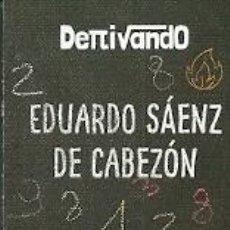 Coleccionismo Marcapáginas: MARCAPÁGINAS. PENGUIN RANDOM HOUSE. EDUARDO SÁENZ DE CABEZÓN. APOCALÍPSIS MATEMÁTICO. Lote 218248367