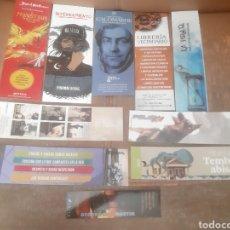 Coleccionismo Marcapáginas: 10 MARCAPÁGINAS VARIOS. Lote 218498317