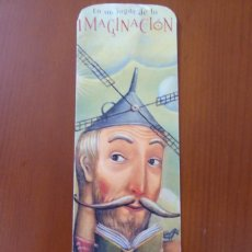 """Coleccionismo Marcapáginas: MARCAPAGINAS. 21 CONCURSO ONCE. AÑO 2004. CONMEMORACION IV CENTENARIO DE """"EL QUIJOTE"""". Lote 218504537"""
