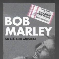 Collectionnisme Marque-pages: MARCAPAGINAS, BOB MARLEY, SU LEGADO MUSICAL. EDITORIAL BLUME.. Lote 220979571
