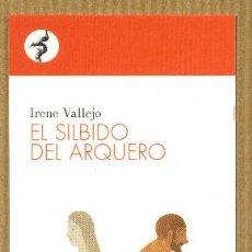Coleccionismo Marcapáginas: MARCAPÁGINAS IRENE VALLEJO - CONTRASEÑA EDITORIAL. Lote 221590866