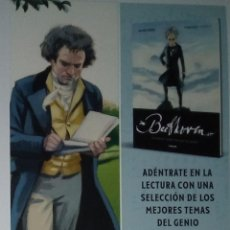 Collectionnisme Marque-pages: MARCAPÁGINAS EDITORIAL PENGUIN RANDOM.BEETHOVEN-. Lote 221726591