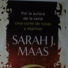 Coleccionismo Marcapáginas: MARCAPÁGINAS EDITORIAL ALFAGUARA, CIUDAD MEDIA LUNA.SARAH J.MAAS-. Lote 221835400