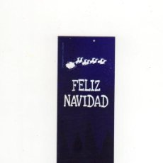 Collectionnisme Marque-pages: MARCAPÁGINAS - EDELVIVES - FELIZ NAVIDAD. Lote 221906886