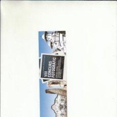 Coleccionismo Marcapáginas: MARCAPÁGIAS. PRIMAVERA FOTOGRÀFICA DEL BAIX LLOBREGAT. VIII CONCURS FOTOGRÀFIC.. Lote 222116023