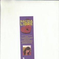 Coleccionismo Marcapáginas: MARCAPÁGINAS. MINERVA PIQUERO. NACIDA LIBRE. EDICIONES ALFAR.. Lote 222116143