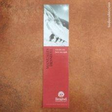 Coleccionismo Marcapáginas: MARCAPAGINAS MANUALES DESNIVEL. MAS ALTO MAS FUERTE MAS RAPIDO. Lote 222122307