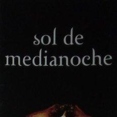 Coleccionismo Marcapáginas: MARCAPÁGINAS EDITORIAL ALFAGUARA, SOL DE MEDIANOCHE.STEPHENIE MEYER-. Lote 222134201
