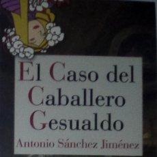 Coleccionismo Marcapáginas: MARCAPÁGINAS EDITORIAL REINO DE CORDELIA. EL CASO DEL CABALLERO GESUALDO-. Lote 222134230
