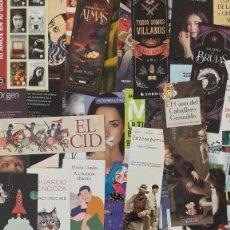 Coleccionismo Marcapáginas: 150 MARCAPAGINAS DE EDITORIALES - DIFERENTES. Lote 222355416