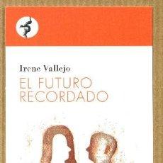 Coleccionismo Marcapáginas: MARCAPÁGINAS IRENE VALLEJO - CONTRASEÑA EDITORIAL. Lote 222387448