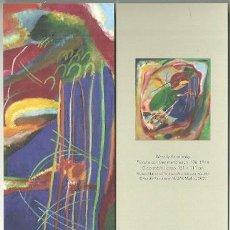 Coleccionismo Marcapáginas: MARCAPÁGINAS. MUSEO THYSSEN. WASSILY KANDINSKY. PINTURA CON TRES MANCHAS. Lote 222617546