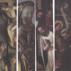 Coleccionismo Marcapáginas: SIETE MARCAPAGINAS SERIE COMPLETA ( PALACIO EPISCOPAL DE SALAMANCA ). Lote 224392606
