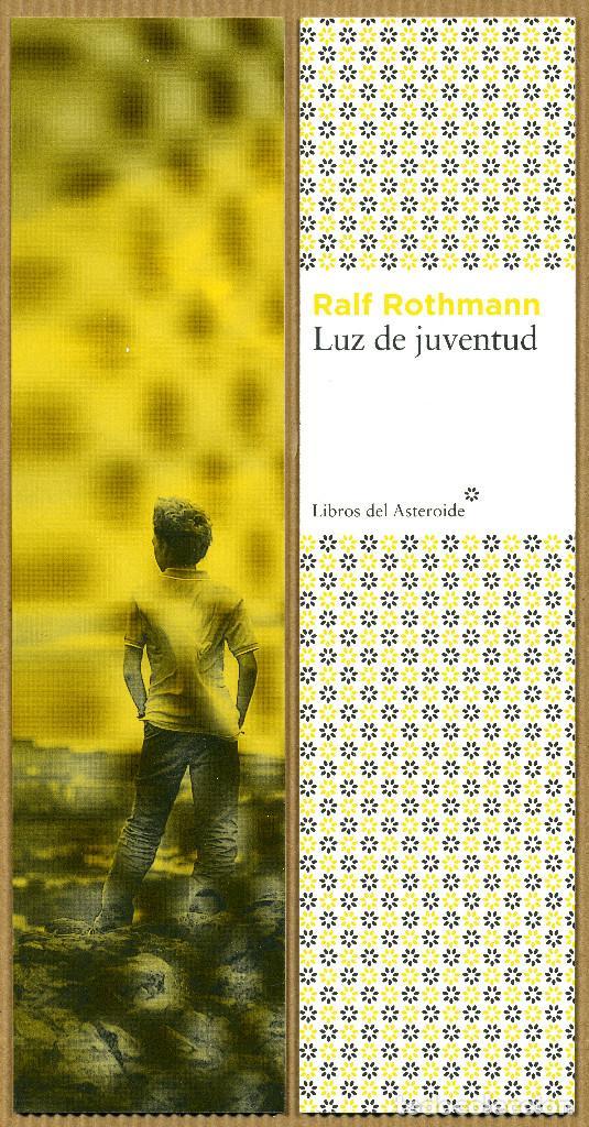 MARCAPÁGINAS EDITORIAL - LIBROS DEL ASTEROIDE LUZ DE JUVENTUD (Coleccionismo - Marcapáginas)