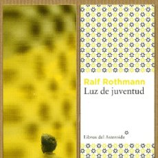 Coleccionismo Marcapáginas: MARCAPÁGINAS EDITORIAL - LIBROS DEL ASTEROIDE LUZ DE JUVENTUD. Lote 245313725