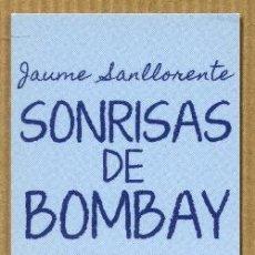 Coleccionismo Marcapáginas: MARCAPÁGINAS EDITORIAL NORMA - SONRISAS DE BOMBAY. Lote 224787650