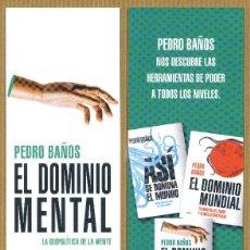 Coleccionismo Marcapáginas: MARCAPÁGINAS ARIEL - EL DOMINIO MENTAL. Lote 245312860
