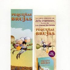 Coleccionismo Marcapáginas: MARCAPÁGINAS - PENGUIN - PEQUEÑAS BRUJAS. Lote 297352003