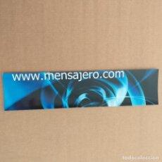 Coleccionismo Marcapáginas: MARCAPAGINAS EDICIONES MENSAJERO.COM.. Lote 232425660