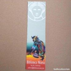 Coleccionismo Marcapáginas: MARCAPAGINAS BIBLIOTECA NUEVA.. Lote 233735435
