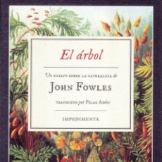 Coleccionismo Marcapáginas: MARCAPÁGINAS: EL ÁRBOL - IMPEDIMENTA - TIPO POSTAL. Lote 233860695