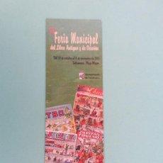 Coleccionismo Marcapáginas: MARCAPAGINAS 23 FERIA DEL LIBRO DE SALAMANCA 2.015. Lote 269986373