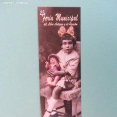 Coleccionismo Marcapáginas: MARCAPAGINAS 25 FERIA DEL LIBRO DE SALAMANCA 2.017. Lote 269986398