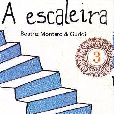 Coleccionismo Marcapáginas: MARCAPAGINAS: A ESCALEIRA - OQO - (GALLEGO). Lote 236567485