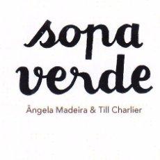 Coleccionismo Marcapáginas: MARCAPAGINAS: SOPA VERDE - OQO. Lote 236567895