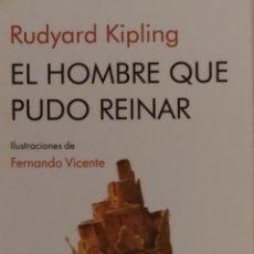 Coleccionismo Marcapáginas: MARCAPÁGINAS EDITORIAL NORDICA.EL HOMBRE QUE PUDO REINAR.. Lote 268917779