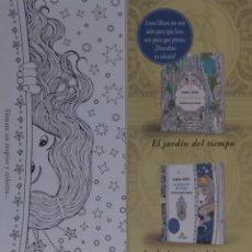 Coleccionismo Marcapáginas: MARCAPÁGINAS EDITORIAL MAEVA.EL JARDIN DEL TIEMPO.DARIASONG.. Lote 278171573