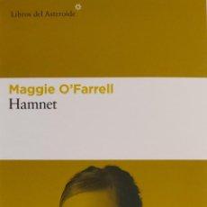 Coleccionismo Marcapáginas: MARCAPÁGINAS EDITORIAL LIBROS DEL ASTEROIDE. HAMNET.MAGGIE O'FARRELL-. Lote 244606040