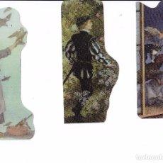 Coleccionismo Marcapáginas: 25 MARCAPAGINAS; PLASTIFICADOS - ALGUNOS TROQUELADOS - (LOTE 9) - LIQUIDACIÓN POR CIERRE DE PÁGINA. Lote 244607785