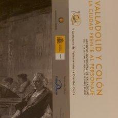 Coleccionismo Marcapáginas: MARCAPÁGINAS EDITORIAL ARCHIVO VALLADOLID.VALLADOLID Y COLON-2007-. Lote 244613955