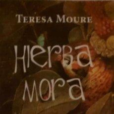 Coleccionismo Marcapáginas: MARCAPÁGINAS EDITORIAL HOJA DE LATA .HIERBA MORA.. Lote 244615955