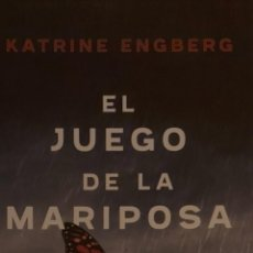 Coleccionismo Marcapáginas: MARCAPÁGINAS EDITORIAL MAEVA.EL JUEGO DE LA MARIPOSA.KATRINE ENGBERG-. Lote 244616165