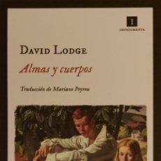 Coleccionismo Marcapáginas: MARCAPÁGINAS EDITORIAL IMPEDIMENTA .ALMAS Y CUERPOS.DAVID LODGE-. Lote 244641190