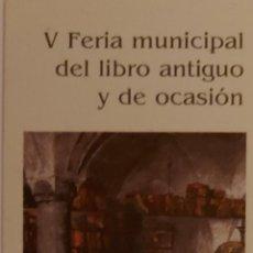 Coleccionismo Marcapáginas: MARCAPÁGINAS V FERIA DEL LIBRO ANTIGUO DE SALAMANCA 1997-. Lote 244642755