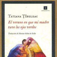 Coleccionismo Marcapáginas: MARCAPÁGINAS EDITORIAL IMPEDIMENTA EL VERANO EN QUE MI MADRE.... Lote 262046980
