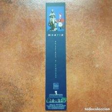 Coleccionismo Marcapáginas: MARCAPAGINAS MADRID. DESCUBRE LA INSPIRACIÓN.OFICINA DE CONGRESOS. Lote 245018550