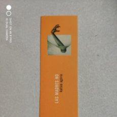 Coleccionismo Marcapáginas: MARCAPÁGINAS - TRÁNSITO - LAS MADRES NO - KATIXA AGIRRE. Lote 262302640